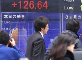 La Bourse de Tokyo commence la semaine en baisse entaché par la recrudescence du yen (Nikkei -0,37%)